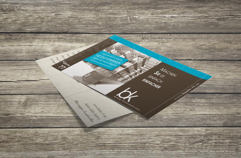 Flyer | bk Beratung + Kommunikation GmbH