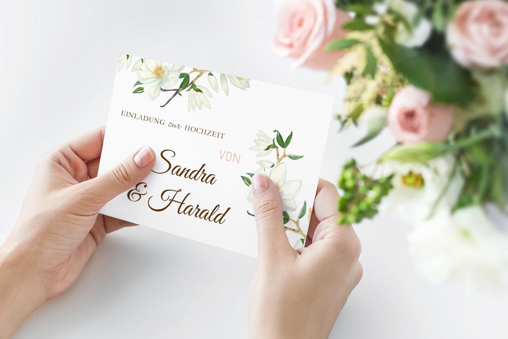 Hochzeit Floral | Einladung