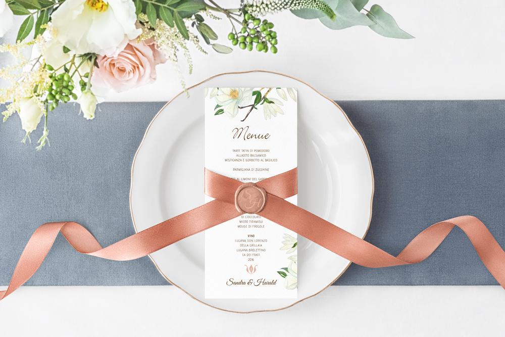 Hochzeit Floral | Menü