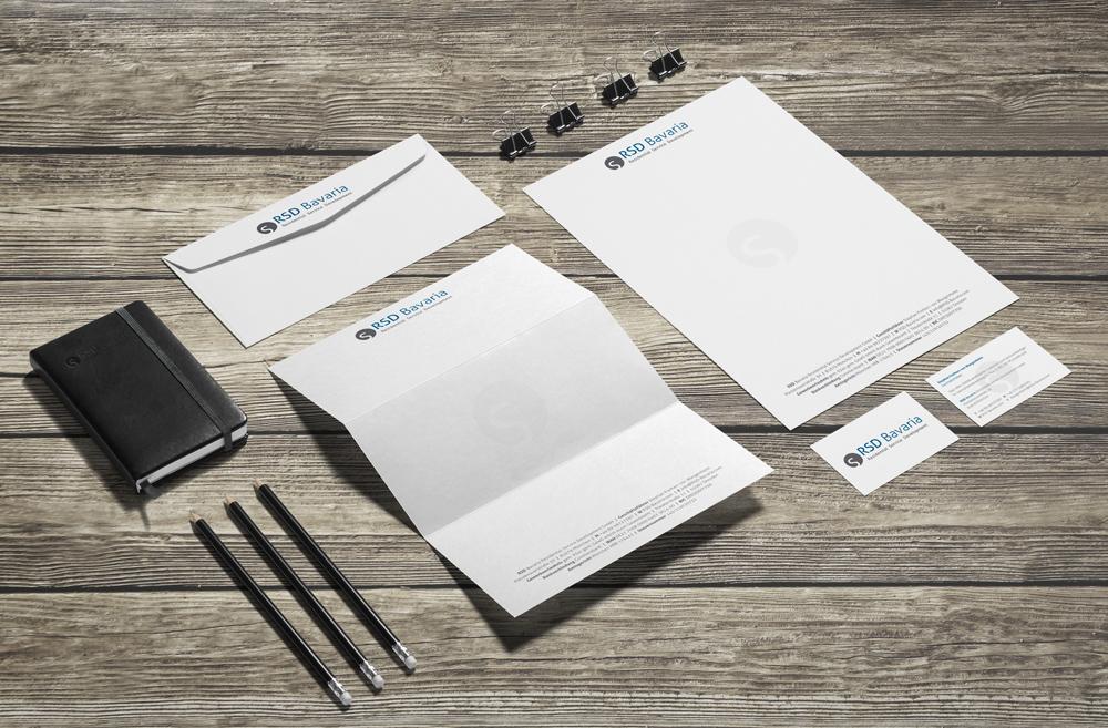 Geschäftsausstattung | RSD Bavaria Residential Service Development GmbH
