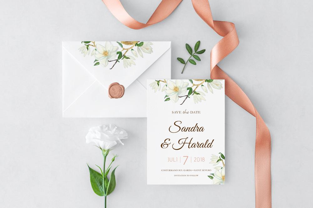 Hochzeit Floral | Save the Date